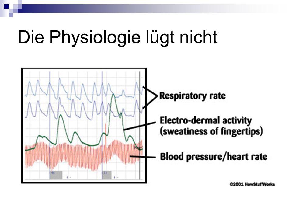 Die Physiologie lügt nicht