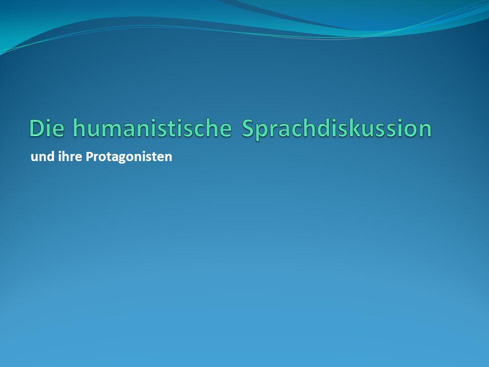 Der Humanismus Halten wir folgende Merkmale des Humanismus fest: Überwindung der Ideale und Wertvorstellungen des Mittelalters übrigens: auch der Begriff des Mittelalters (lat.