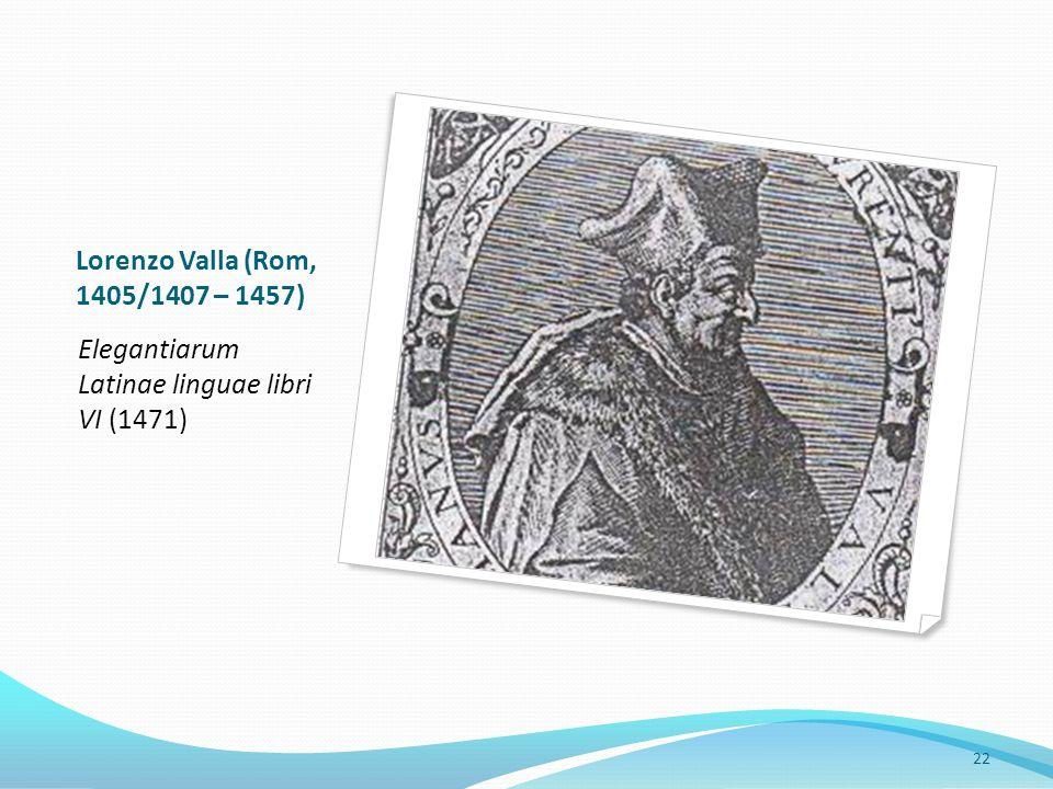 … und ihre Konsequenzen – vom umanesimo latino zum umanesimo volgare