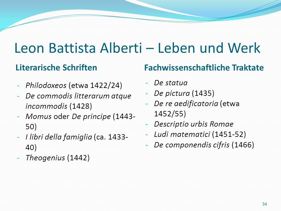 Leon Battista Alberti – Leben und Werk Tempio Malatestiano (Rimini)
