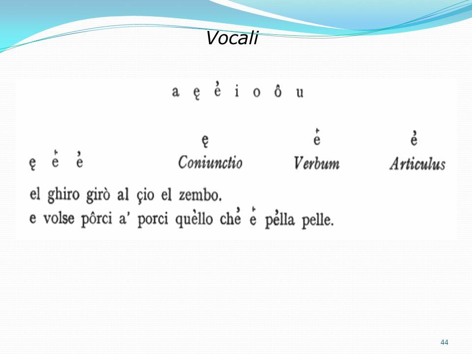 7. Ausgewählte Inhalte Das lateinische Alphabet kann die toskanischen Silben und Wörter nicht ausreichend wiedergeben Ordine delle lettere i r t d b v