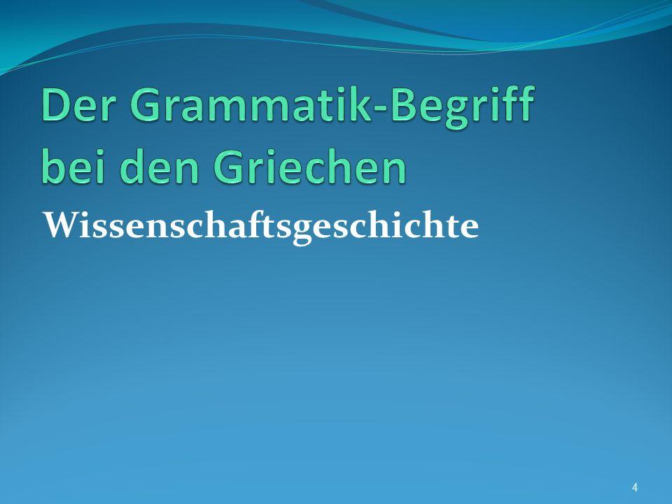 Die Rolle der lateinischen Grammatikographie nach der Ausgliederung der romanischen Sprachen 45