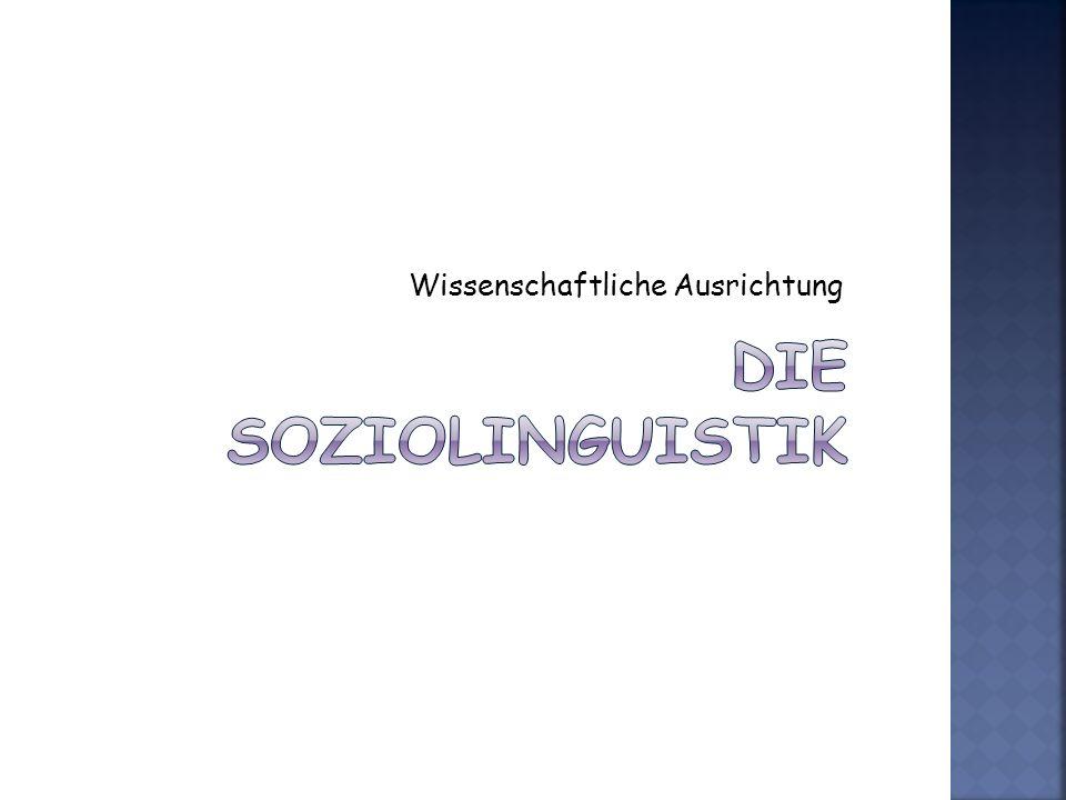 Weitere Soziolinguistische Grundbegriffe Akrolekt.