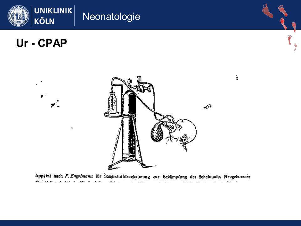 Neonatologie Ur - CPAP