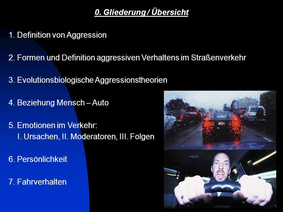 14 Quelle: Aggressionen im Straßenverkehr.