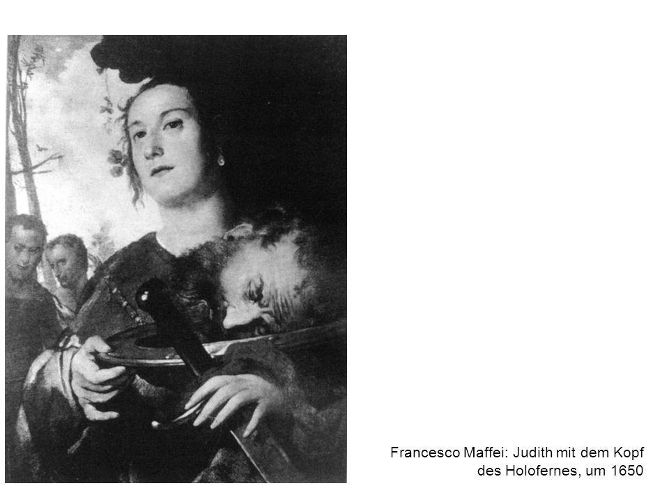Francesco Maffei: Judith mit dem Kopf des Holofernes, um 1650