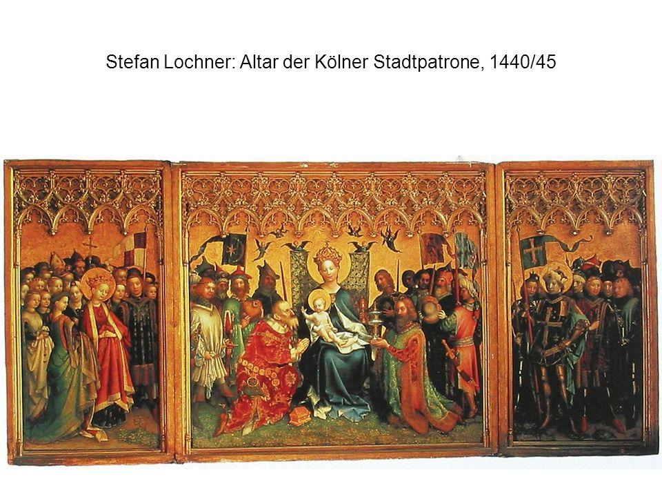 Stefan Lochner: Altar der Kölner Stadtpatrone, 1440/45