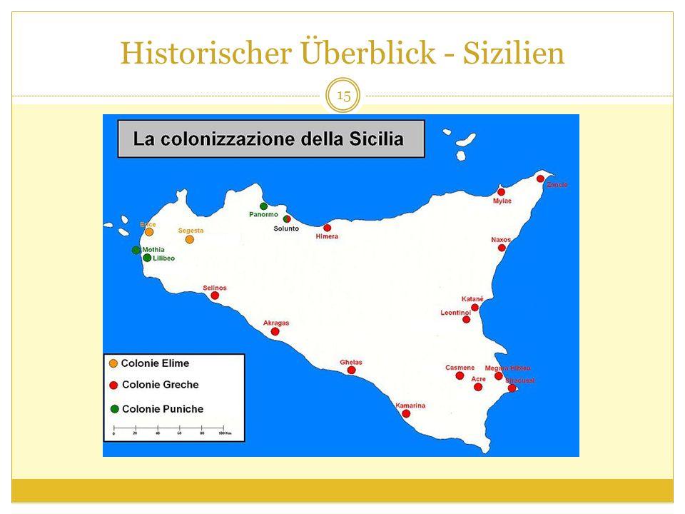 Historischer Überblick - Sizilien 15