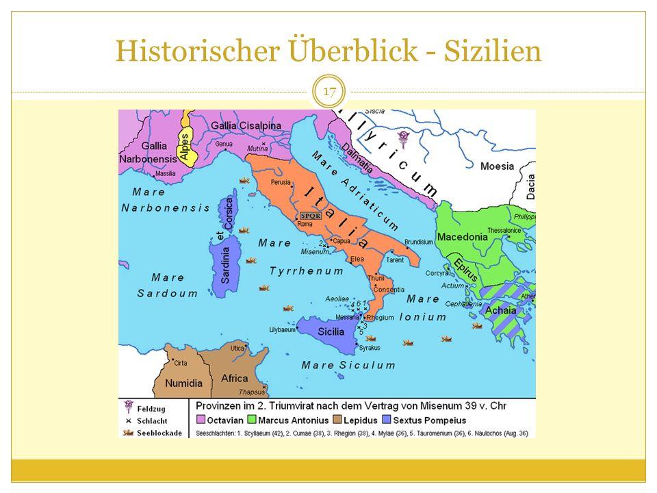 Historischer Überblick - Sizilien 17