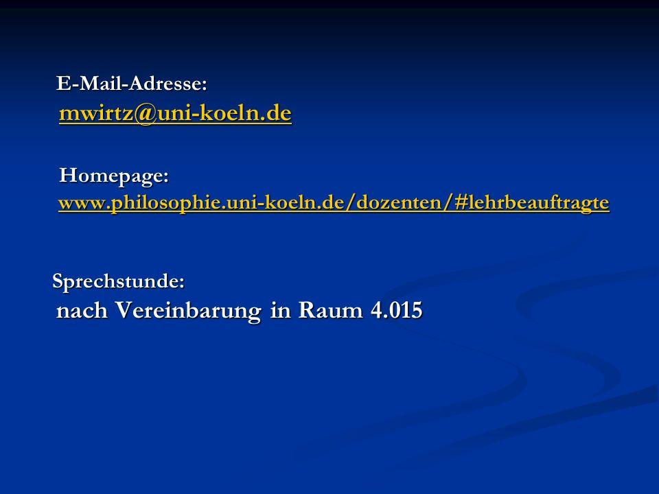 Seminarprogramm: 02.11. 10: 02. 11. 10: 1. Hermeneutische und analytische Philosophie, S.