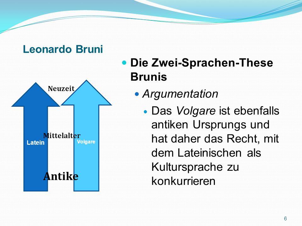 - Externe Sprachgeschichte - 17