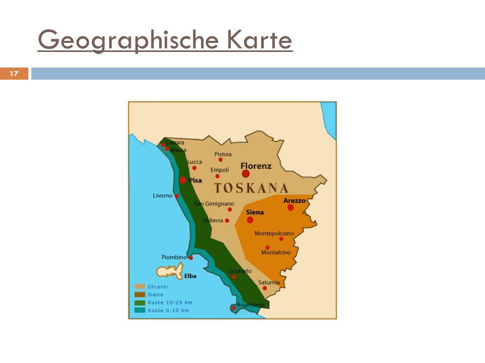 Geographische Karte 17