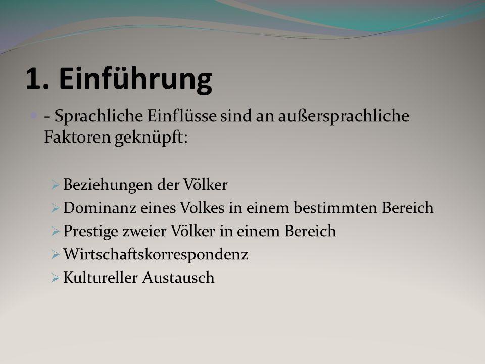 Beispiele zu Emigration: -Germanismen im Friaulischen asimpon, azimpon, lazimpon dt.