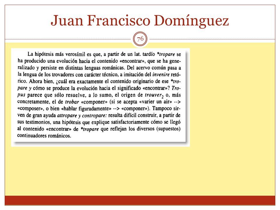 76 Juan Francisco Domínguez