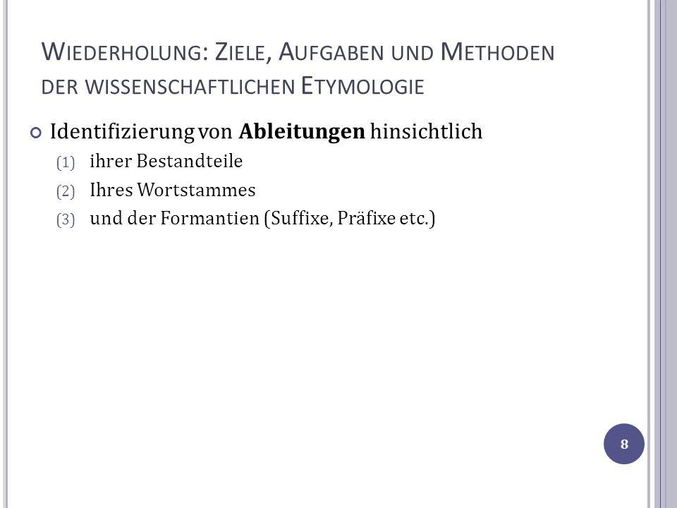 P HONETISCHER W ANDEL Die Hinzufügung von Segmenten Anaptyxe (it.