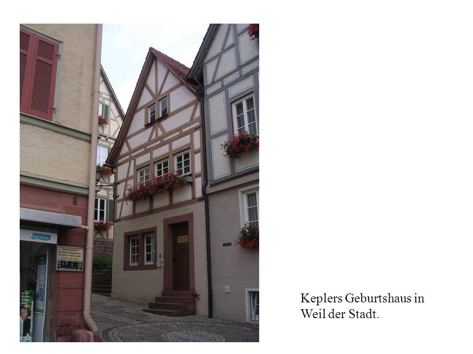Keplers Geburtshaus in Weil der Stadt.