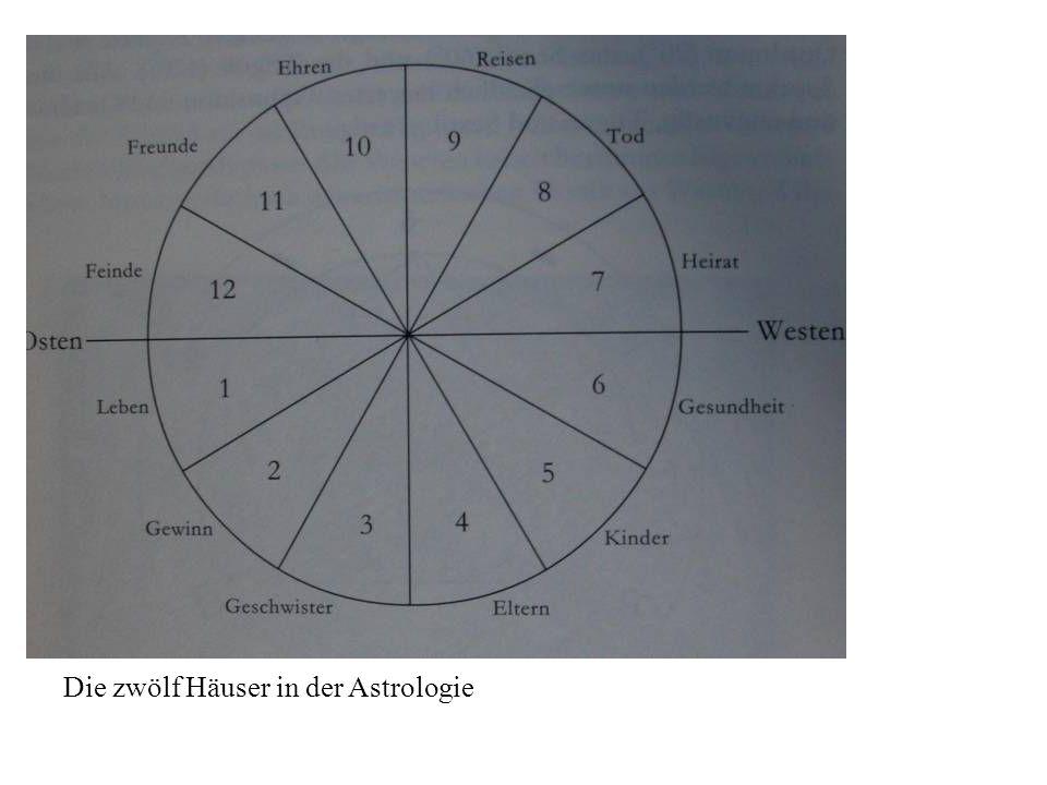 Die zwölf Häuser in der Astrologie