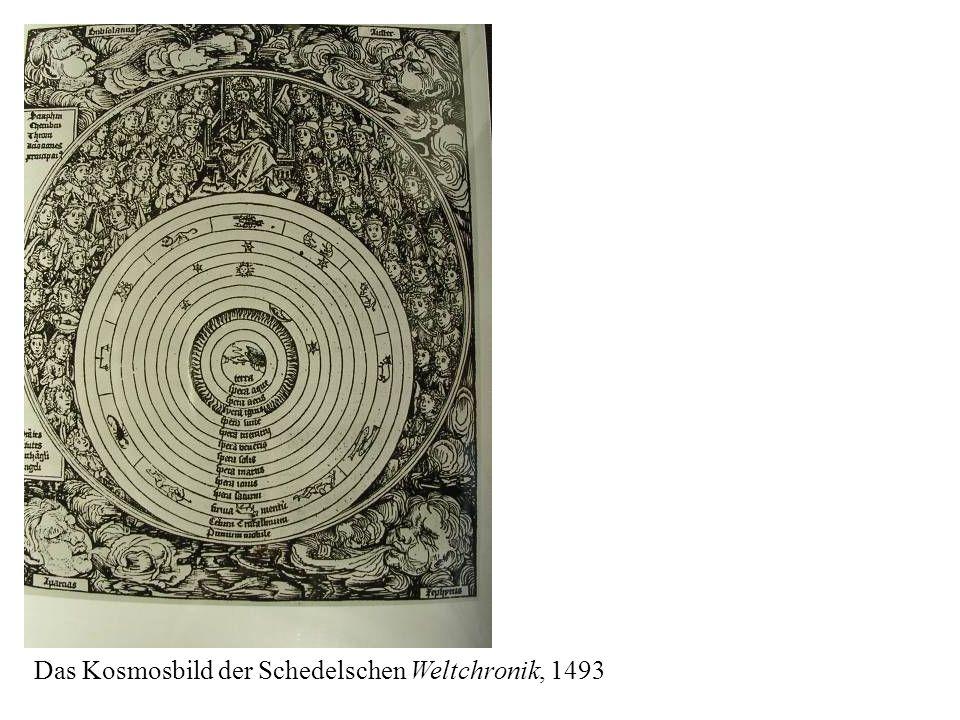Das Kosmosbild der Schedelschen Weltchronik, 1493