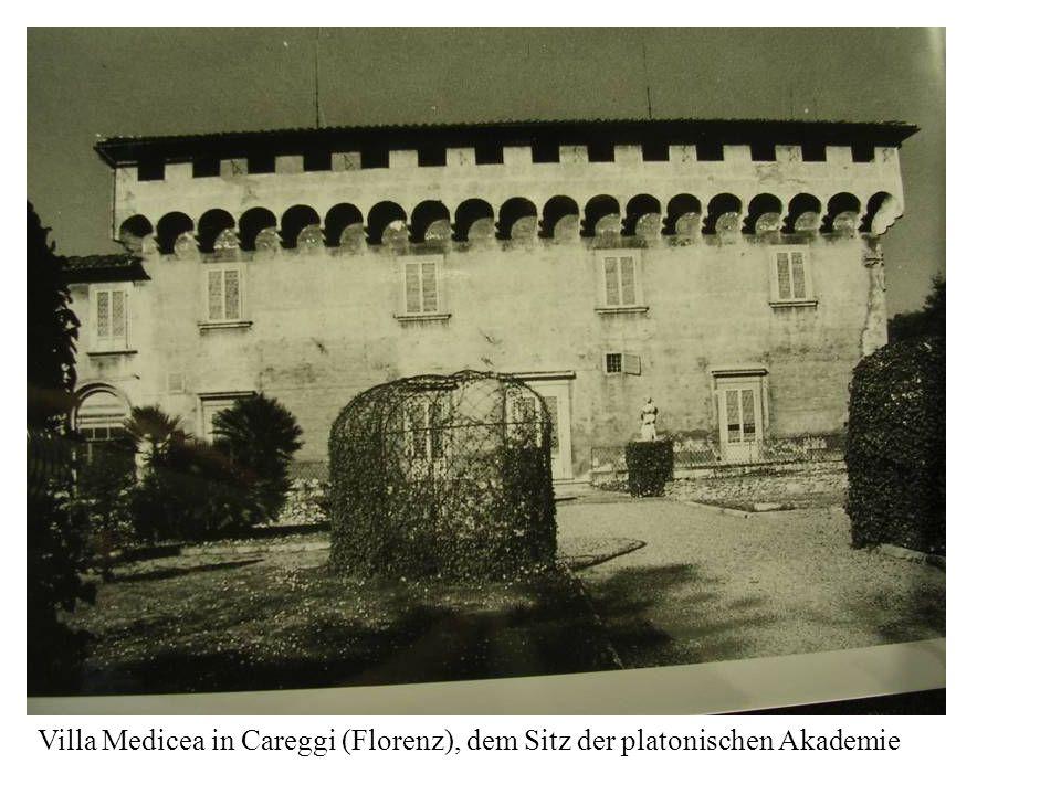 Villa Medicea in Careggi (Florenz), dem Sitz der platonischen Akademie
