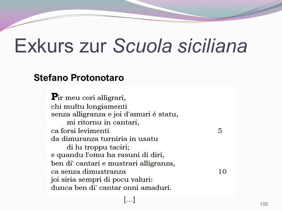 Exkurs zur Scuola siciliana 108 Stefano Protonotaro […]