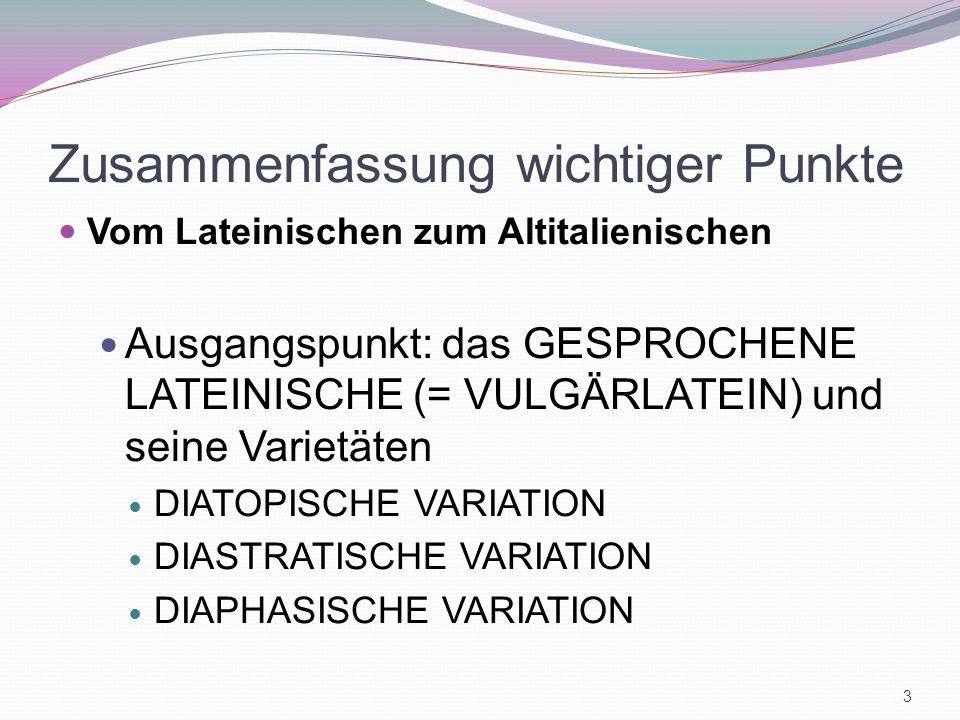 Dante, De vulgari eloquentia Linguistische Interpretation = it.