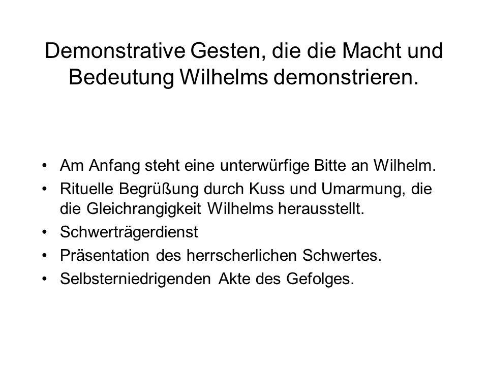 Der Konflikt unter den Kriegern Lothringer und Sachsen verschmähen Wilhelm Langschwert: welch außergewöhnliche Tüchtigkeit und Machtfülle der Herzog d
