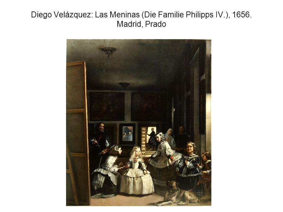 Diego Velázquez: Las Meninas (Die Familie Philipps IV.), 1656. Madrid, Prado
