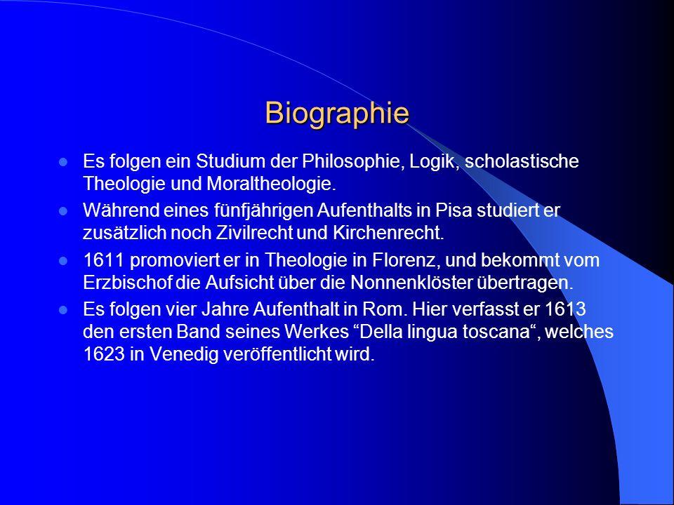Biographie Es folgen ein Studium der Philosophie, Logik, scholastische Theologie und Moraltheologie.