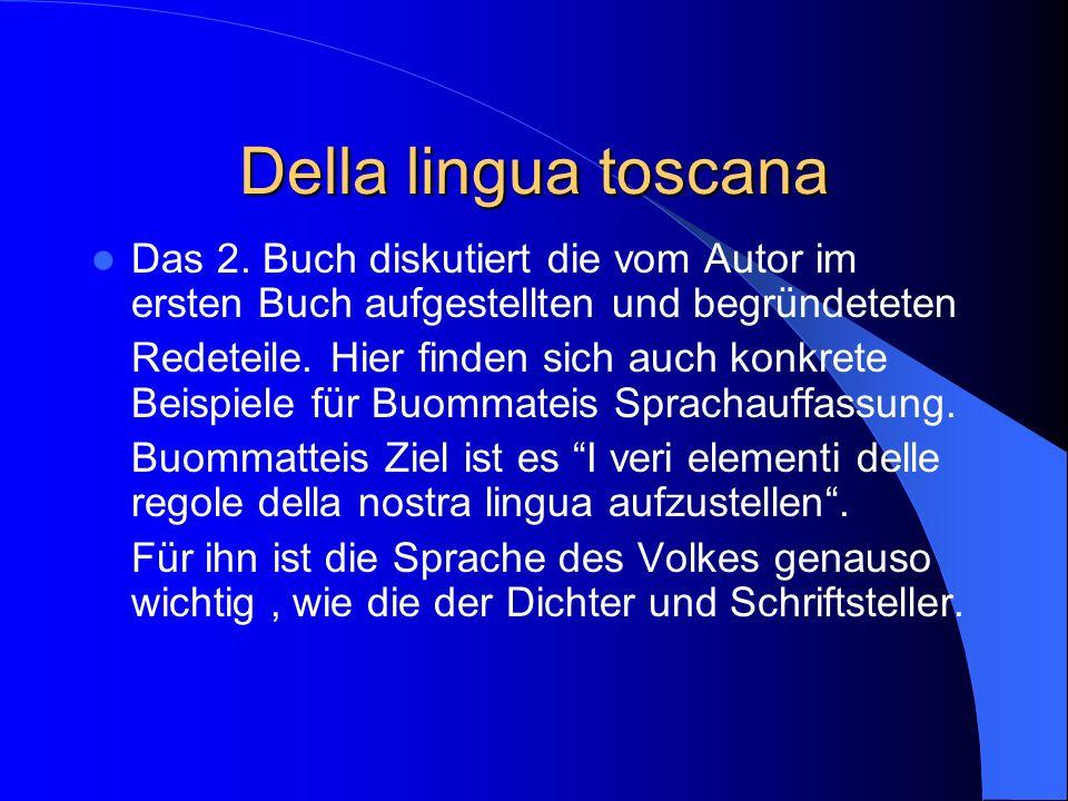 Della lingua toscana Das 2.