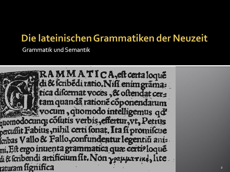 Die Grammatik von Port Royal Syntax Unterscheidung zwischen convenance In allen Sprachen gleich régime In den einzelnen Sprachen unterschiedlich geregelt