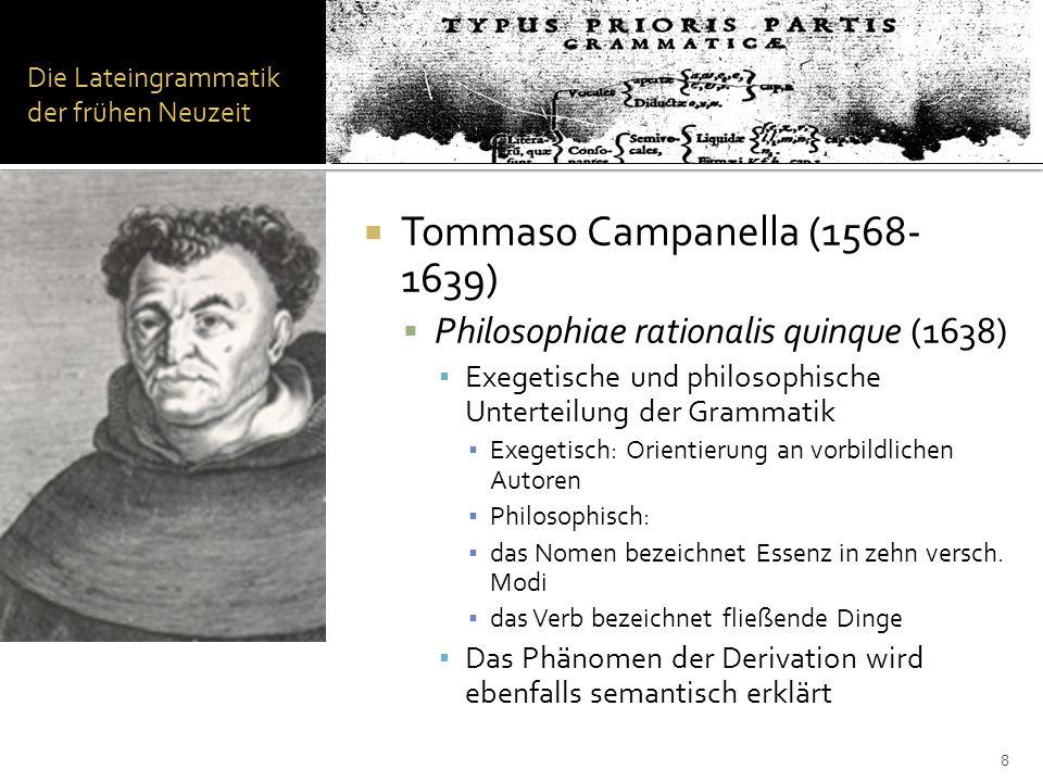 Die Kasusgrammatik Kasusgrammatik (it.grammatica dei casi): Sie wurde 1968 durch Charles J.