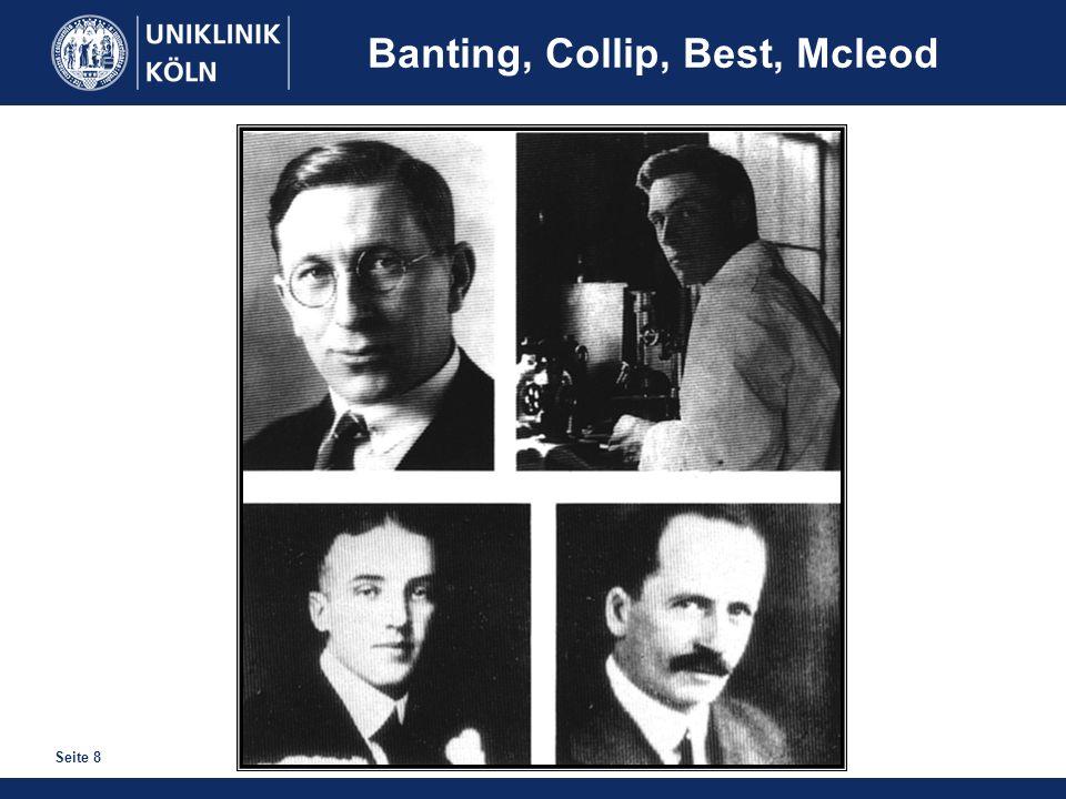Seite 8 Banting, Collip, Best, Mcleod