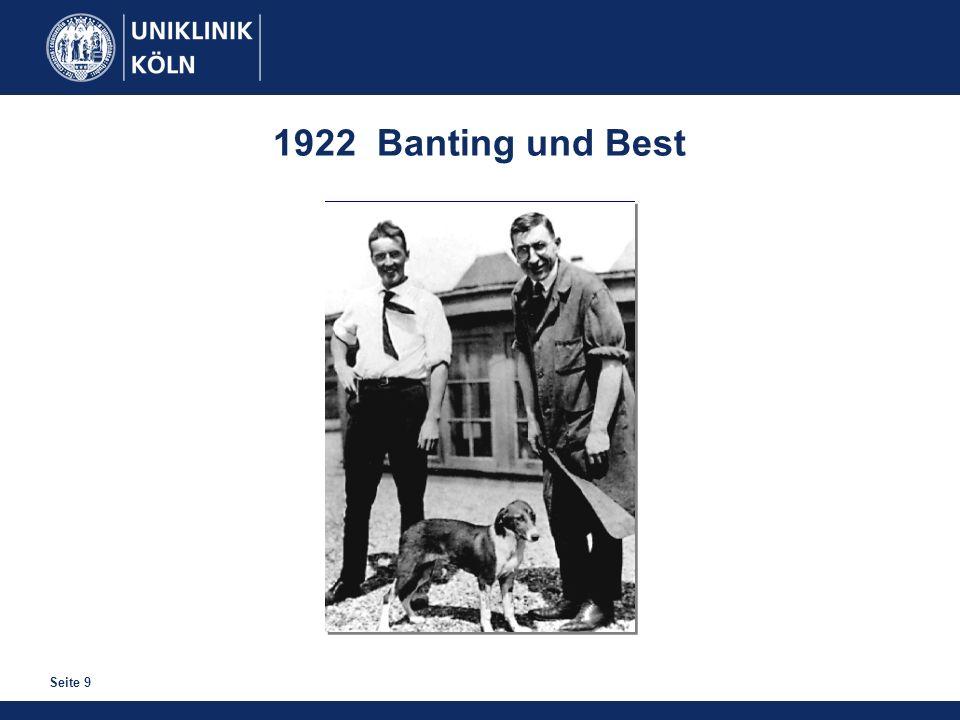 Seite 9 1922 Banting und Best