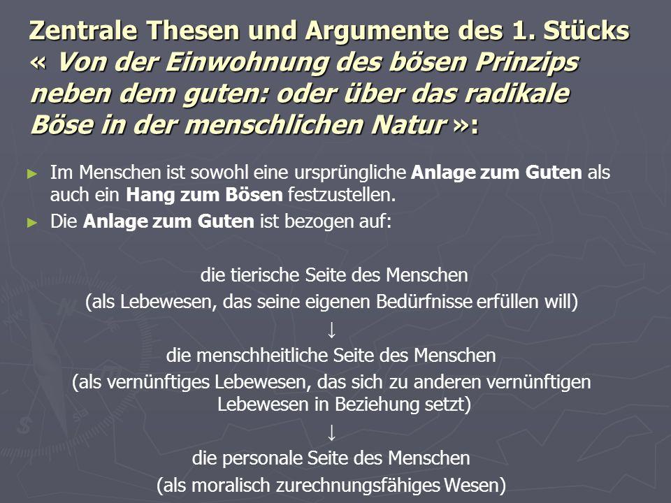 Zentrale Thesen und Argumente des 1.