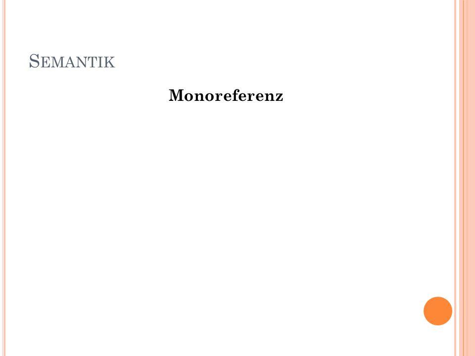 Monoreferenz