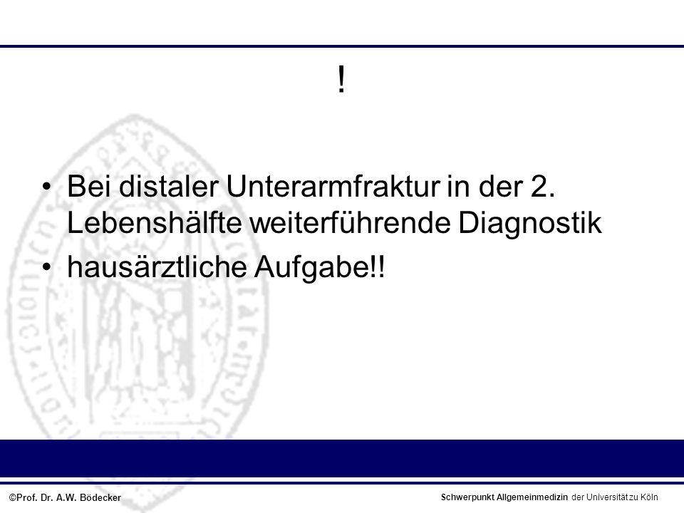 Schwerpunkt Allgemeinmedizin der Universität zu Köln ©Prof.