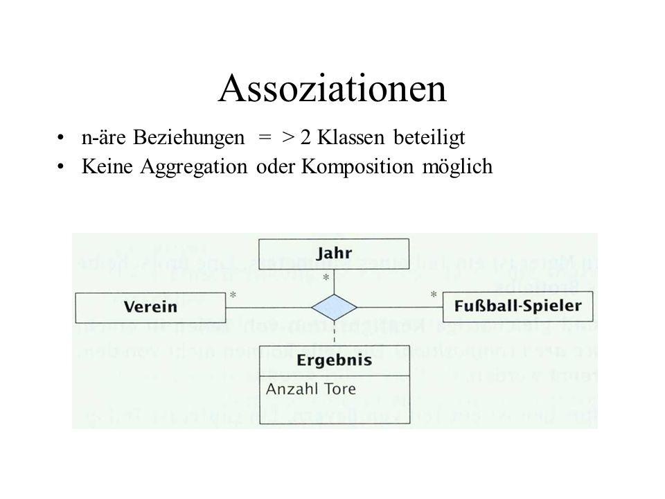 Vererbung Vererbung (generalization): Beziehung zwischen einer allgemeinen Basisklasse und einer spezialisierteren Klasse Klassenhierarchiebildung: Oberklasse(super class) - Unterklasse(sub class)