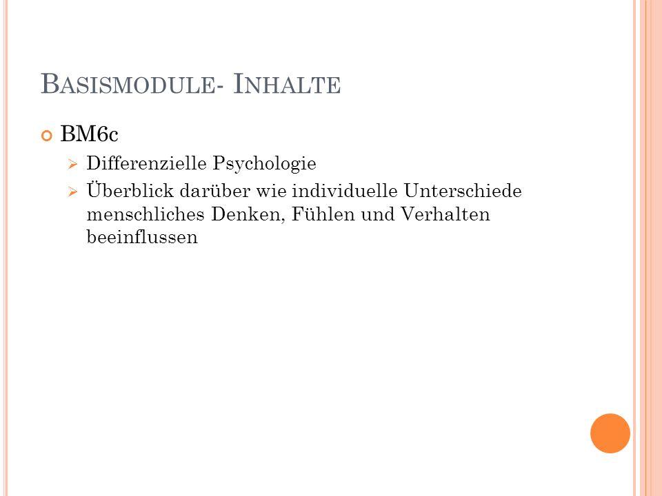 WAHLPFLICHTMODULE WM2 Medienpädagogik 12 Credits 4 Veranstaltungen 3.-6.