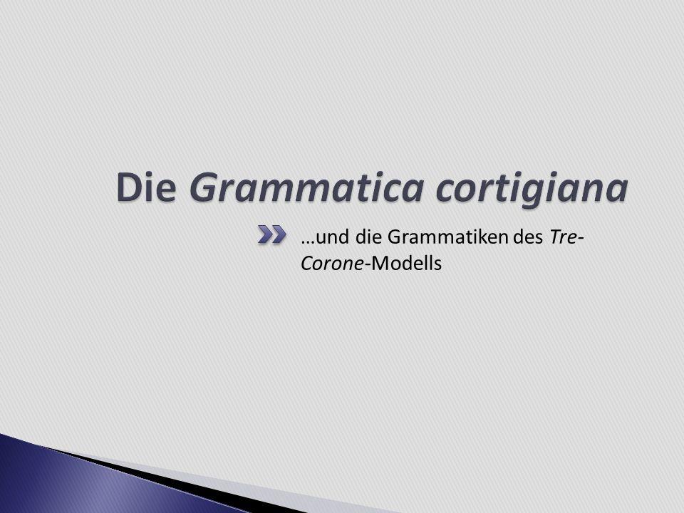 …und die Grammatiken des Tre- Corone-Modells