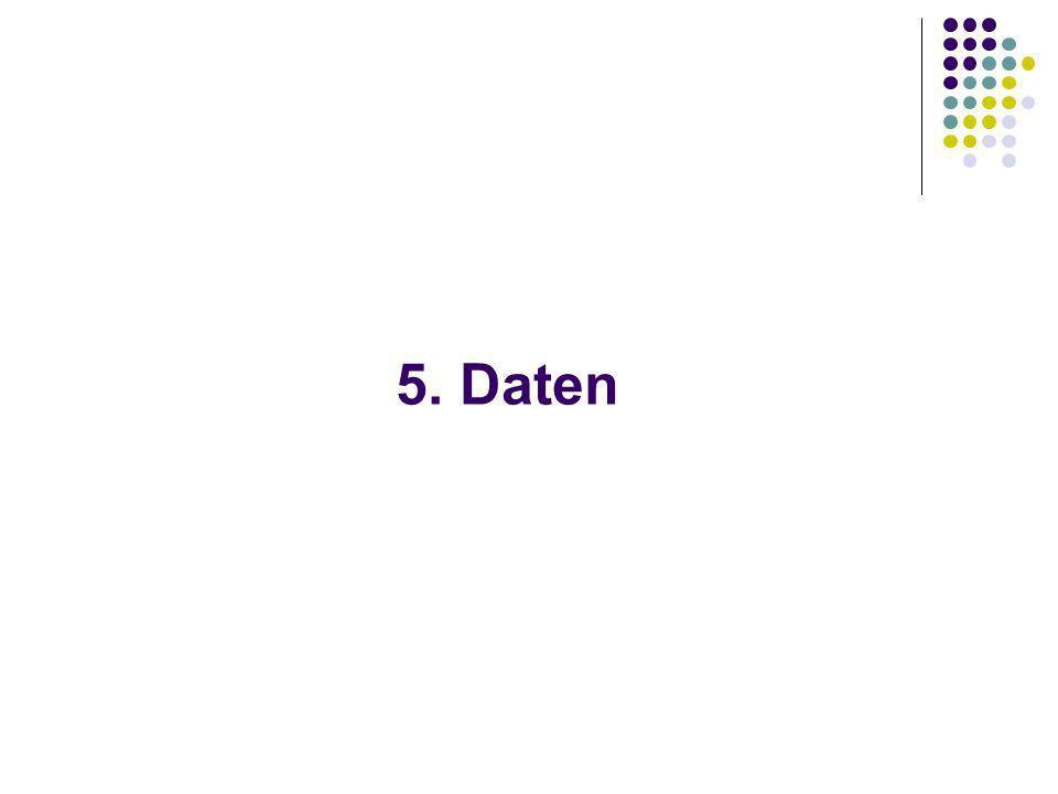 5. Daten