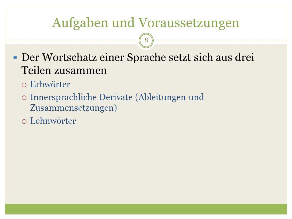 39 Zur Etymologie der frz.Bezeichnungen für Biene avette < vlat.