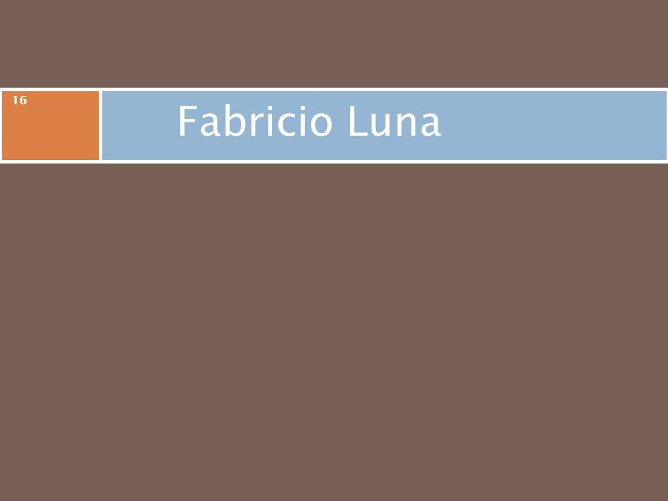 Fabricio Luna 16