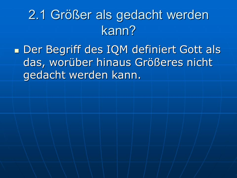 2.3 Trinität Gott Geist… Gott Geist…