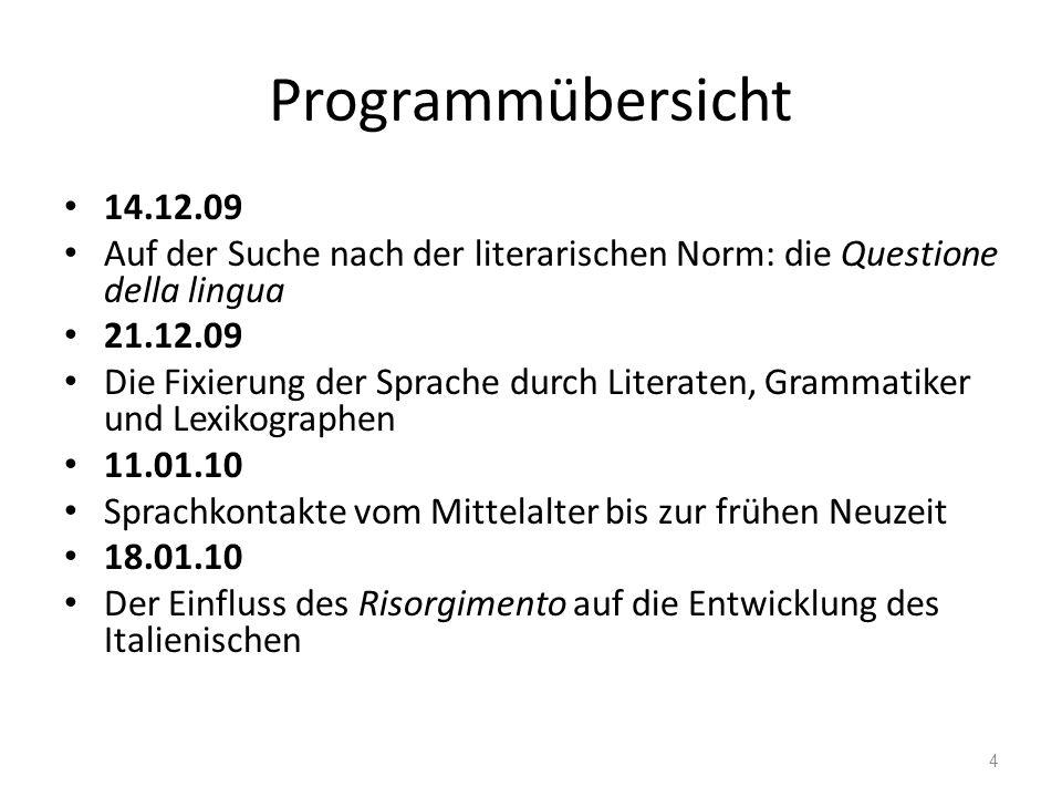 Historiolinguistik Die Historizität von Sprache – diachrone Sprachbetrachtung – synchrone Sprachbetrachtung 15 F.
