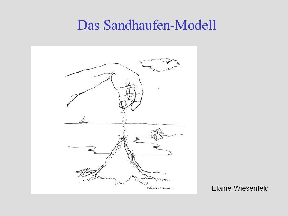 Das Sandhaufen-Modell Elaine Wiesenfeld
