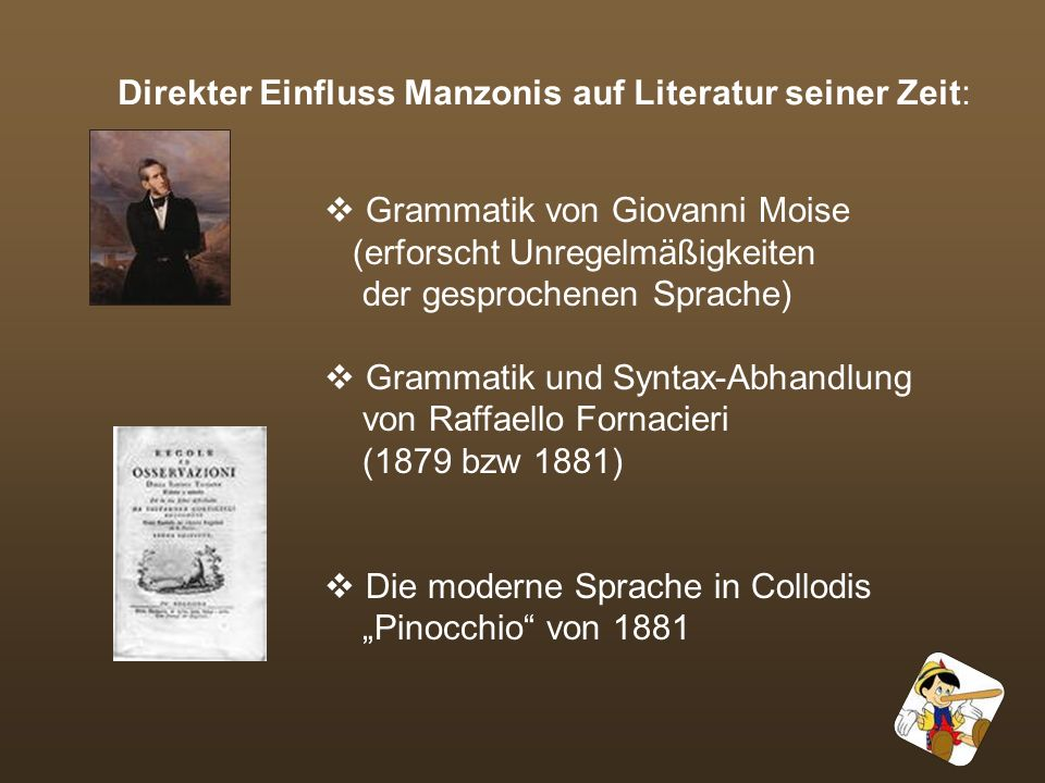 Einflussreichster Gegner: Graziadio Isaia Ascoli 1829 - 1907 veröffentlichte Kritik im L archivio glottologico Italiano 1873 kritisierte Gebrauch von