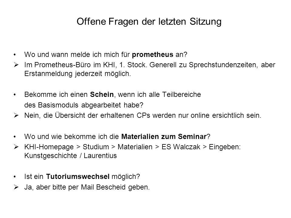 Grundlagenliteratur (ergänzend zum Seminar) Zur Einführung in die Kunstgeschichte Belting, Hans; Dilly, Heinrich; Kemp, Wolfgang (u.a.) (Hg.): Kunstgeschichte.