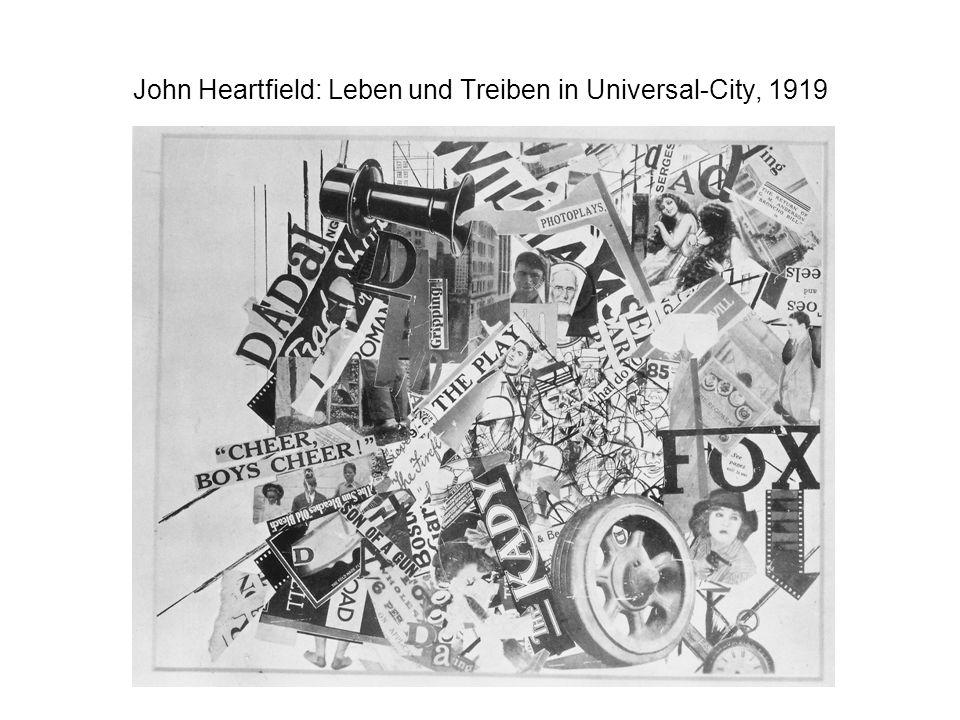 John Heartfield: Leben und Treiben in Universal-City, 1919