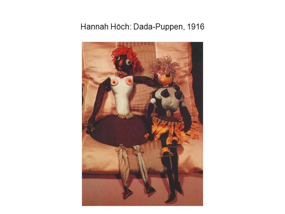 Hannah Höch: Dada-Puppen, 1916