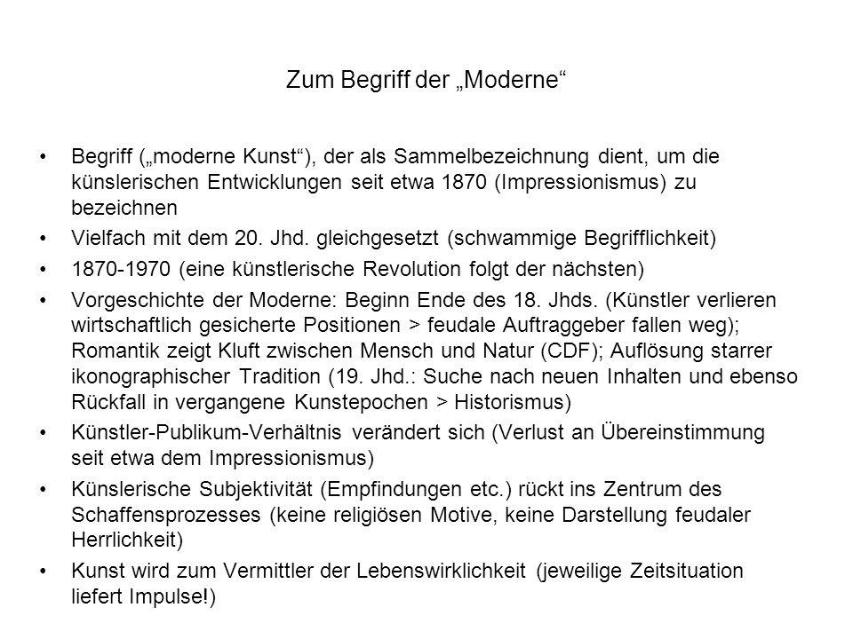 Literaturhinweise Walther, Ingo F.(Hg.): Kunst des 20.